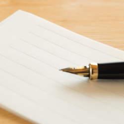 【例文】資料送付の際に同封する「手紙(一筆箋、添え状)」の書き方