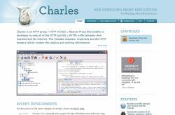 ローカルのファイルを参照させるアプリ、WEB DEBUGGING PROXY「Charles」