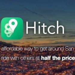 Uberよりも革新的かも?相乗りでどこよりも安く移動できるサービス「Hitch」