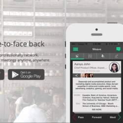 ビジネスマンの出会い系?会ってみたいビジネスマンと会えるかもしれないアプリ「Weave」