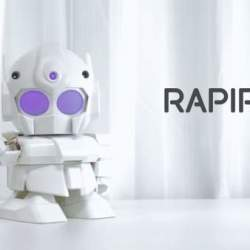 ちっちゃいガンダムみたいで可愛い!世界中で話題沸騰の組み立て式ロボット「RAPIRO(ラピロ)」
