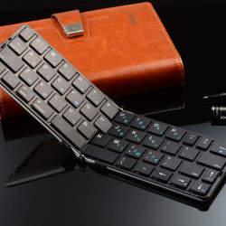 まだそんな大きいキーボードを持ってるの?ポケットに入る折りたたみキーボード「FLYSHARK」