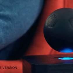 スピーカーが宙に浮く…だと!?磁力で浮遊させる新型球体スピーカー「OM/ONE」