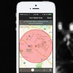 近くでアツい話題は何?有名人の目撃情報も知れるオモシロアプリ「SPIRAL」