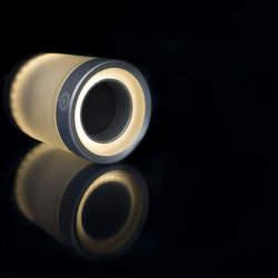 スマホでコントロールできるスピーカー内蔵フルカラーLED照明「LIGHTFREQ」