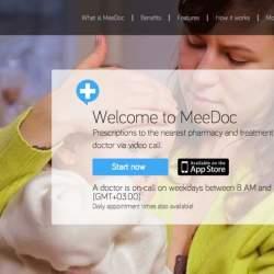 病院に行かずに診察を受けられる?ビデオ通話で医師とつながるサービス「Meedoc」