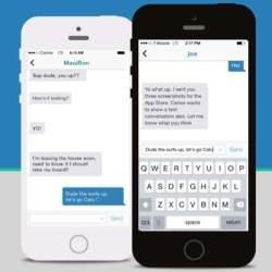 まるで会話みたい!打つ文字がリアルタイムに反映されるチャットアプリ「Textter」
