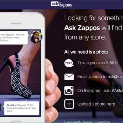 これどこで売ってるの?写真を撮るだけで売ってるお店を探してくれる「ask Zappos」が便利