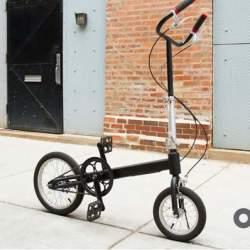 もうサドルなんていらない。サドルの無い折りたたみ「立ち乗り」自転車がスタイリッシュ過ぎる