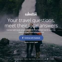 旅先の悩みは現地の人に聞くのが一番!分からないことを現地の人に質問できる「Asknative」