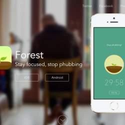 自分の集中力で森を育てる?集中力の持続時間を図れるアプリがシュールで面白い