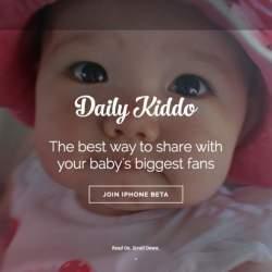 あなたも親バカ自慢ができる?赤ちゃんの可愛い写真を手軽に共有できるSNS「DailyKiddo」