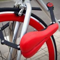 サドルが変形して自転車のチェーンロックに!?逆転の発想から生まれた「SEATYLOCK」
