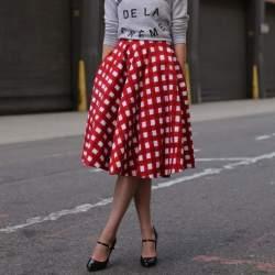 失敗したくないスカートの丈選び。今期おすすめはオフィスでも使えるミモレ丈