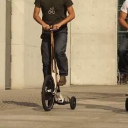 見た目はセグウェイ、中身は自転車な3輪カート「Halfbike」が完全に新しい乗り物だった