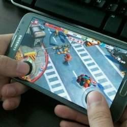 スマホはもう、ゲーム機です。スマホにつける3Dジョイスティック「TactSlider」