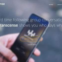 耳が聞こえない人でも他人と会話できる、テクノロジーがあれば。「Transcense」