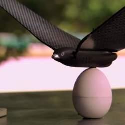 iPhoneで簡単操縦! 鳥型ドローン「Bionic Bird」で空を縦横無尽に飛び回れ