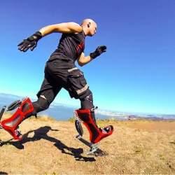 ウサイン・ボルトと同じ早さで走れる世界最速ブーツ「Bionic Boot」