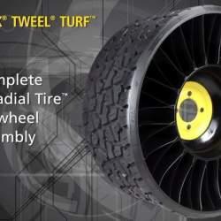 タイヤ業界に激震走る! 釘がささってもパンクしない変形タイヤ「TWEEL」