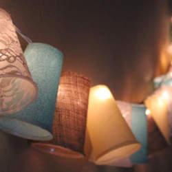 ランプの影を上手く使って落ち着く空間をつくろう。DIYで作るぬくもりランプシェード