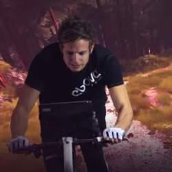 もう作業的なダイエットは辞めよう。ゲームをしながら体を絞れるエアロバイク「The ebove」