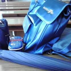 青は「先端」に持ってくる! 男の定番色、青いアイテムの使い方