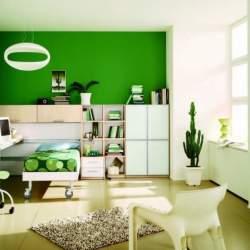 さわやかな気分で朝を迎えたくて。スッキリした色の「ビタミンカラー」を使ったインテリア事例3選