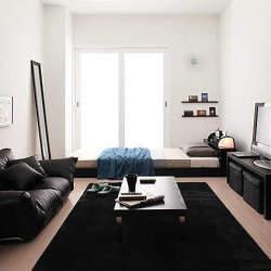 単調な部屋には飽きてしまったのさ。狭い空間を活用したワンルーム・1Kのインテリア事例