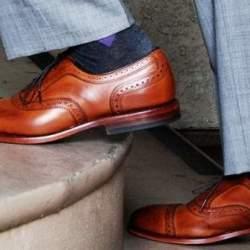 ユニクロの「まとめ買い」から脱却。スーツスタイルを格上げしたいなら、このブランドの靴下が外せない