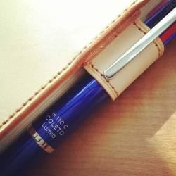 お気に入りの手帳だからこそ、ボールペンにもこだわりを。手帳の記入に機能がフィットするボールペン