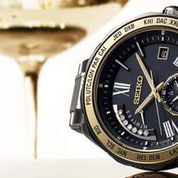 重厚なデザインで男際立つ。クロノグラフ腕時計なら「SEIKO(セイコー)」の一品