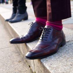 """靴下×パンツコーデには、ルールがあった? """"見せる""""靴下が、あなたのコーデをワンランクアップ!"""