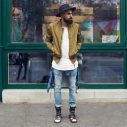 一点投入で2015年の旬顔へ! 冬を彩るメンズファッション:ミリタリーアイテムで勝負をかけろ
