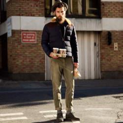 着こなしで魅せる、ダウンジャケットの洒脱なスタイル。「野暮ったい」なんてイメージはもう古い!