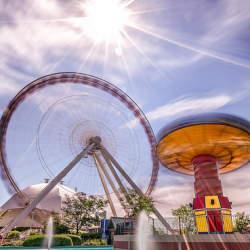 """入場者数の多い""""世界の""""レジャー施設ランキングトップ10:日本からは3つの遊園地がランクイン"""