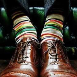 おしゃれメンズのこだわり「ハイセンス靴下コーデ」:シンプル・無難なコーデも、靴下一つで大変身!