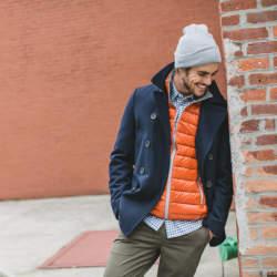 おしゃれに体温調節できる「インナーダウンの着こなし」:気温の変化が激しい季節はこれで乗り越えろ!