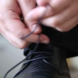 解けない! ビジネスシューズの靴紐の結び方!