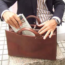 デキるビジネスマンはバッグの中がきれい! バッグの中身を整理するコツって?