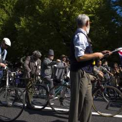 ツイード必須のサイクリングイベント「ツイードラン」:ファッション×スポーツの新たな可能性