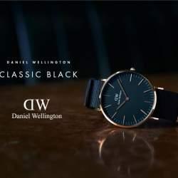 ダニエルウェリントンの新作「CLASSIC BLACK」はビジネスパーソンのマストアイテム
