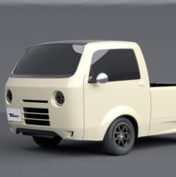 こんな軽トラなら乗りたい! ホンダが東京オートサロン2017に出展した「T880」に惚れた