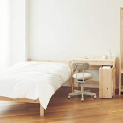 """""""理想の部屋""""を叶えるデザイン:無印良品のロングセラー家具「脚付きマットレス」の魅力に迫る"""