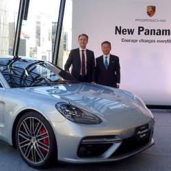 スポーツカー並みの運動性能を持ったラグジュアリーカー! ポルシェ「パナメーラ」の新型が発表
