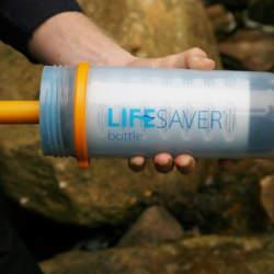 アウトドアや防災グッズに最適! 英国軍が採用する携帯浄水器「ライフセーバーボトル」