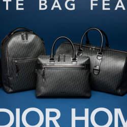 DIOR HOMME(ディオール オム)、「ダークライト」バッグでスタイルのあるオトコになれ。