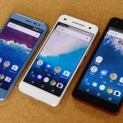 Googleブランド「Android One」に新モデル登場!507SH、S1、S2を徹底比較