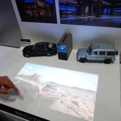 壁や机に投影した映像をタッチ操作!「Xperia Touch」ファーストインプレッション