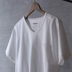 """5月3日「肌が透けない白無地Tシャツ」数量限定で再販決定。透けないオトコの""""ANSWEAR"""""""